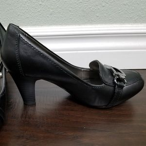 Madeline Stuart Shoes - Black Heels